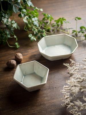 灰マット 八角鉢(小鉢)/くるり窯