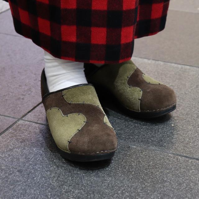 【dansko】Used MADE IN POLAND  Professional  Sabo  Sandals  Suede Lather Brown  UK39 ダンスコ サボ サンダル プロフェッショナル ポーランド製 スウェード レザー ブラウン ベージュ サイズ39 日本24.5〜25cm