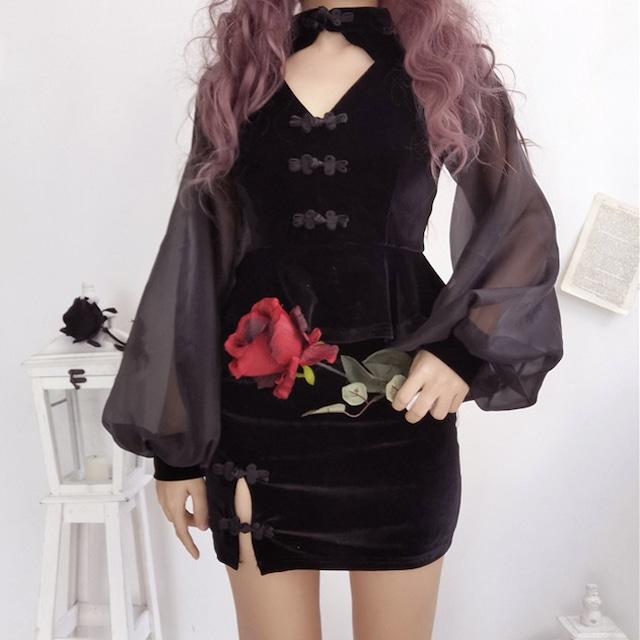 Witch chinese dress