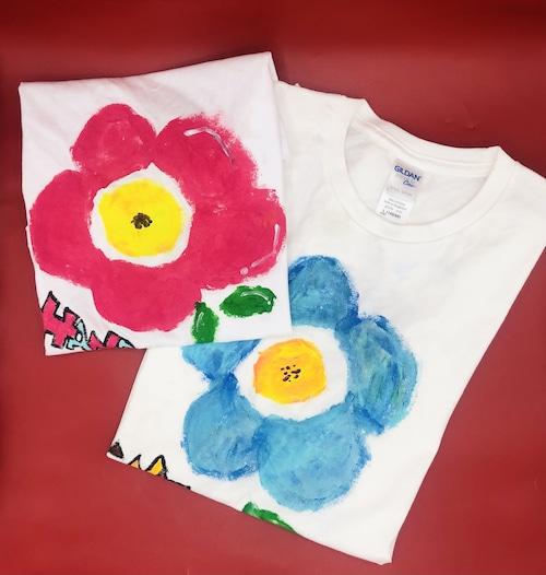 【手描きTシャツ】リクエストでイラスト描きます。|ことうた屋| オリジナルTシャツ 出産祝い 誕生日祝い