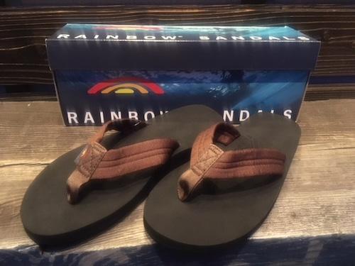 Rainbow Sandals  THE CLOUD  Brown/Black  XLサイズ 28-28.5cm