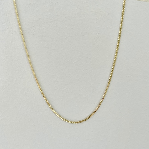 【14K-3-34】16inch 14K real gold chain necklace