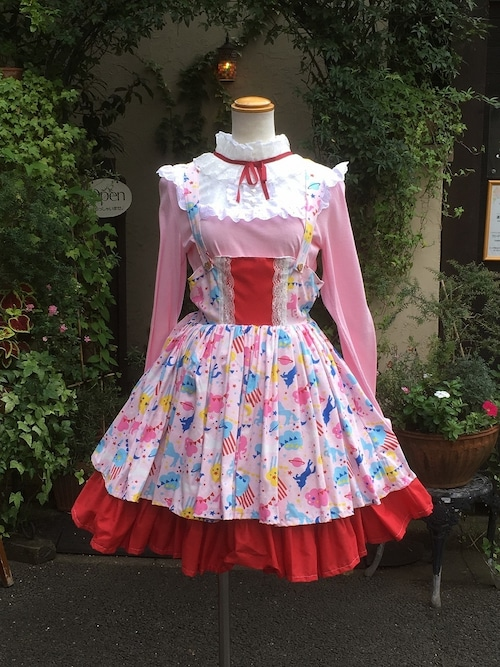 夢見る少女のコスモチックジャンパースカート