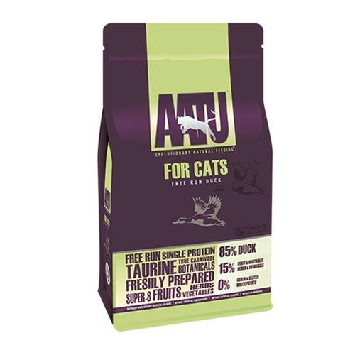 AATU アートゥー キャット 85/15 ダック(総合栄養食)1kg(送料無料)