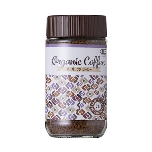 カフェイン派♪  オーガニック インスタントコーヒー