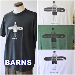 バーンズ BARNS 半袖 プリント Tシャツ BR-21130 【2021年 春夏 新作】メンズ Tシャツ カットソー