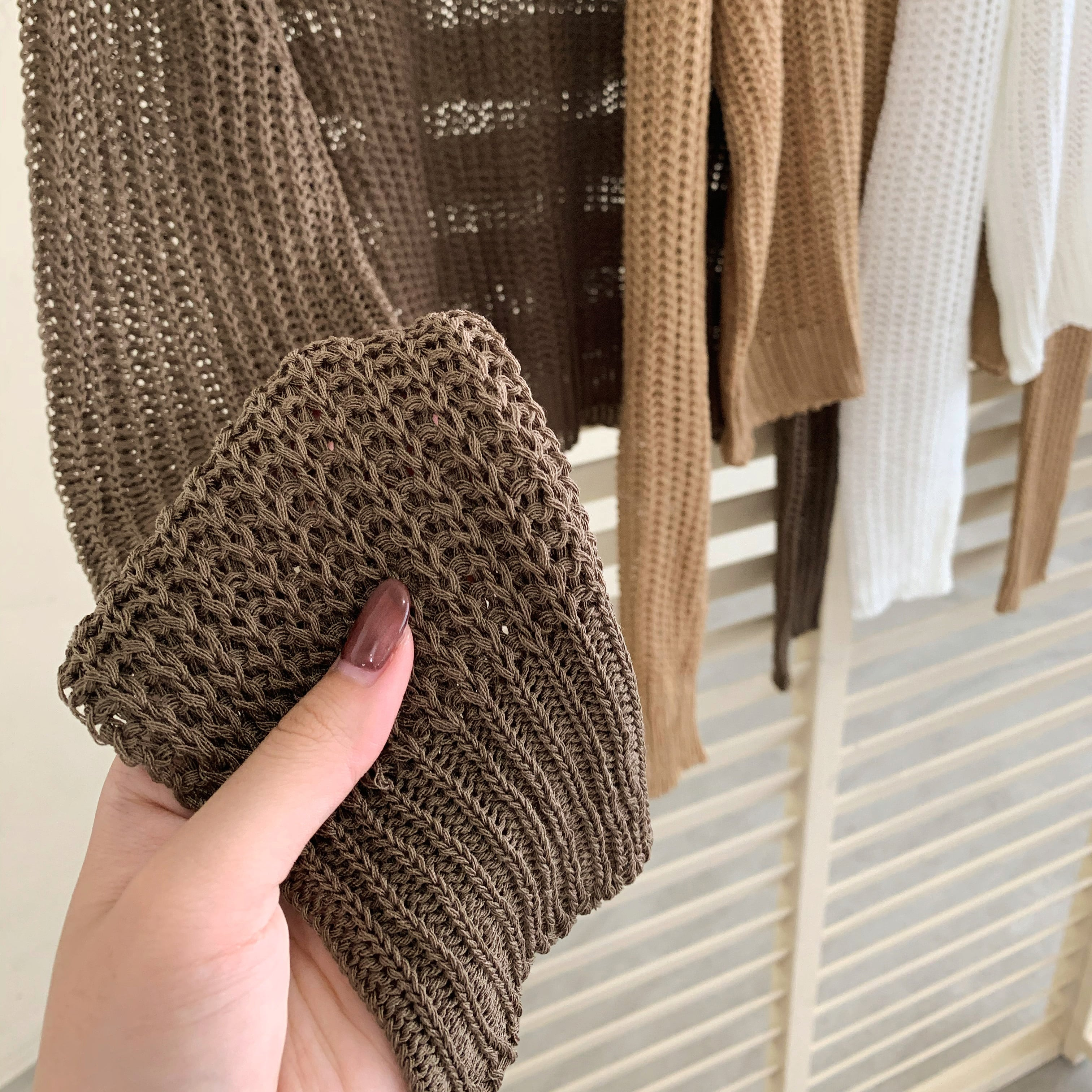 see through knit