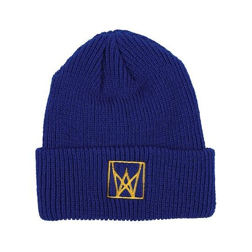 Welcome / Icon Cuffed Beanie / Navy-Yellow