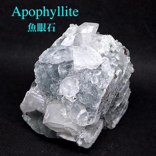 アポフィライト 魚眼石 インド産 原石 魚眼石 標本 220,6g ZL001 鉱物 天然石 パワーストーン 浄化