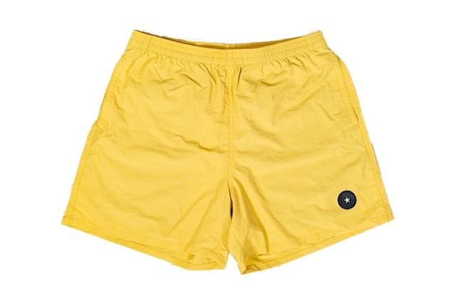 【Taslan nylon shorts】/ yellow haze