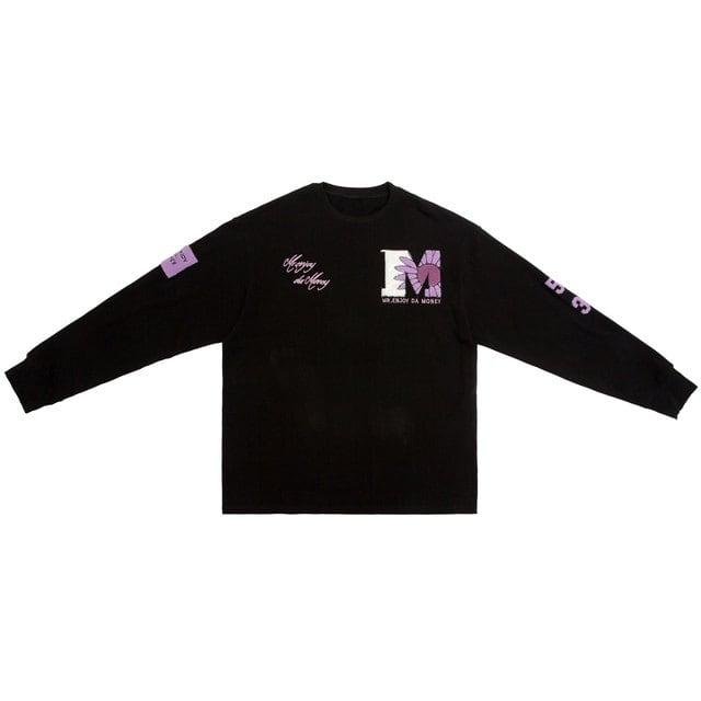 【MEDM】ワッペンロングスリーブTシャツ