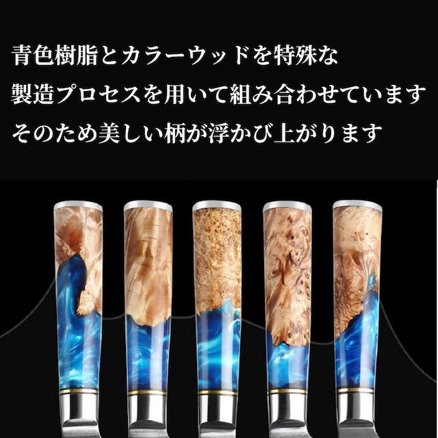 ダマスカス包丁 【XITUO 公式】3本セット 牛刀 骨スキ包丁 ユーティリティーナイフ VG10 ks20061601