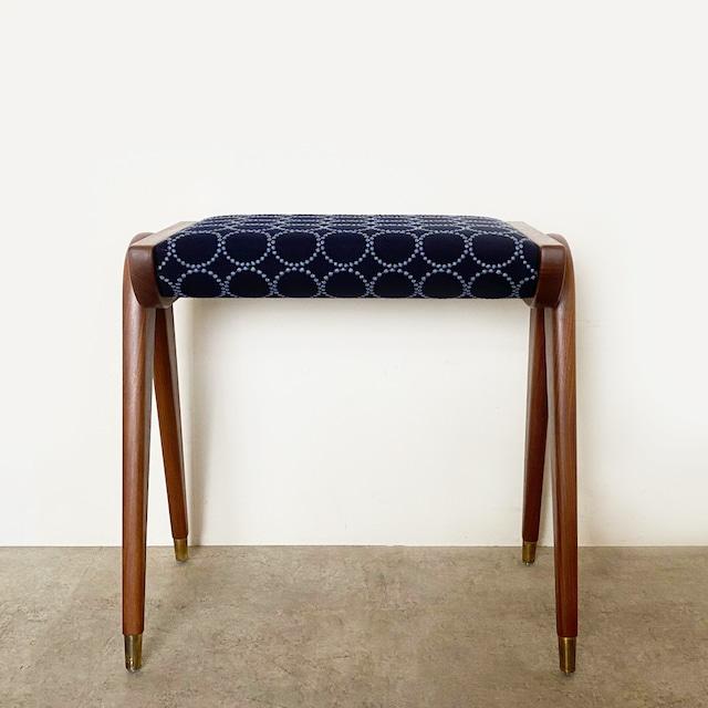 Foot stool with mina perhonen dop tambourine / CH072