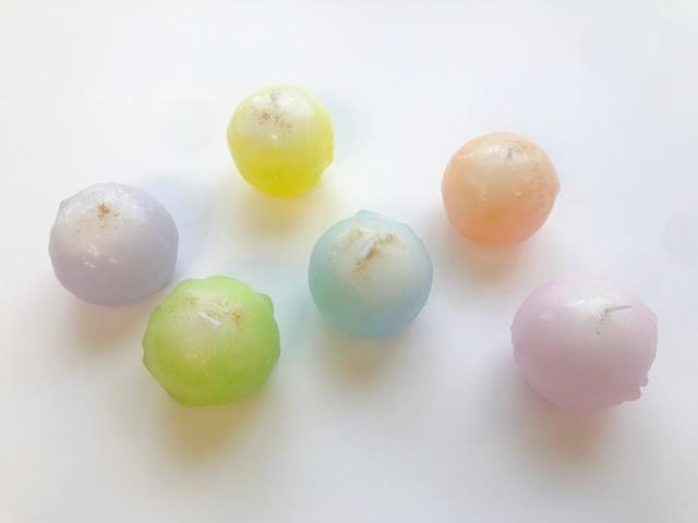 盛り塩がキャンドルになった浄®キャンドル<6色展開:Sサイズ>