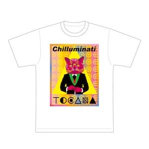 チルミナティ×TOCANA ダブルネームTシャツ 三つ目の猫 Ver.【送料無料】