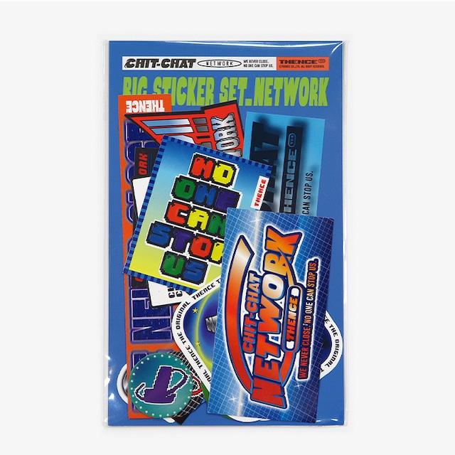 [S-49]「NETWORK」ビッグステッカーセット