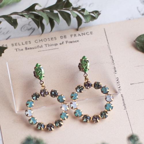 アポロンの祝福 / 耳飾り(Green)