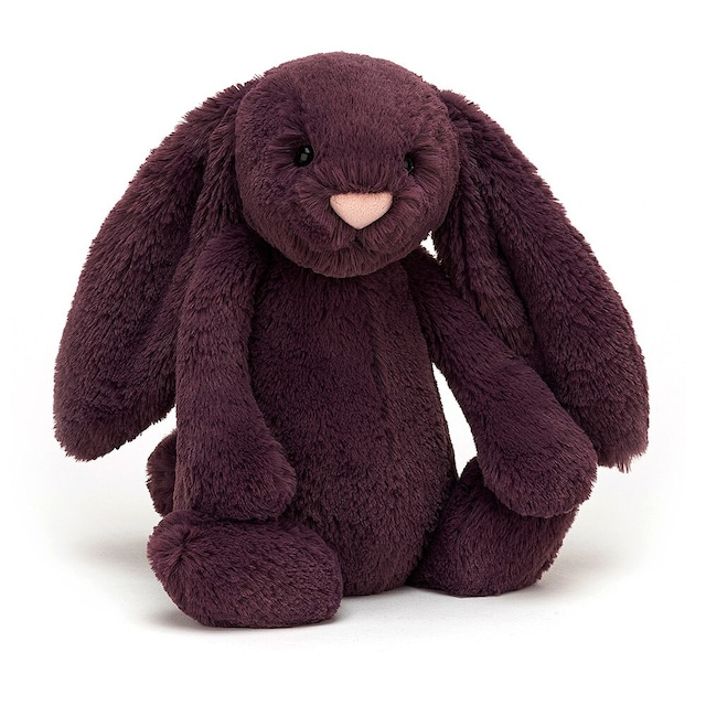 Bashful Plum Bunny Medium_BAS3PLUM