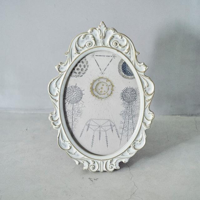 Oval Ornament Frame