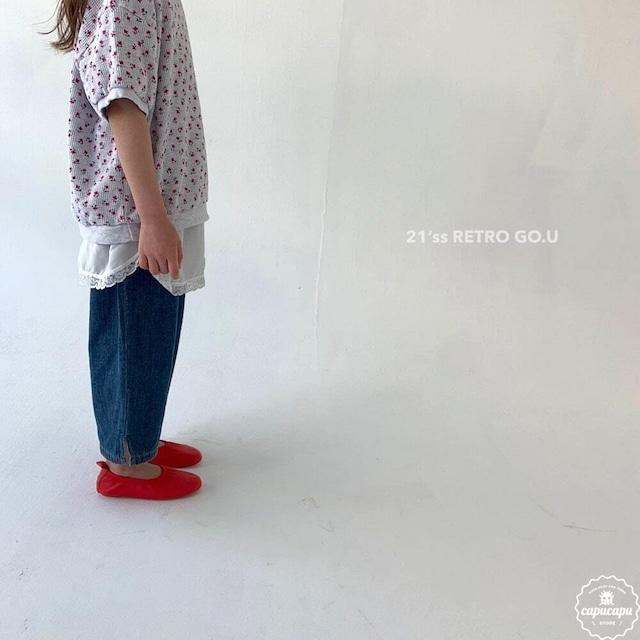 «sold out»«ジュニア» go.u denim pants デニムパンツ ジュニアサイズ