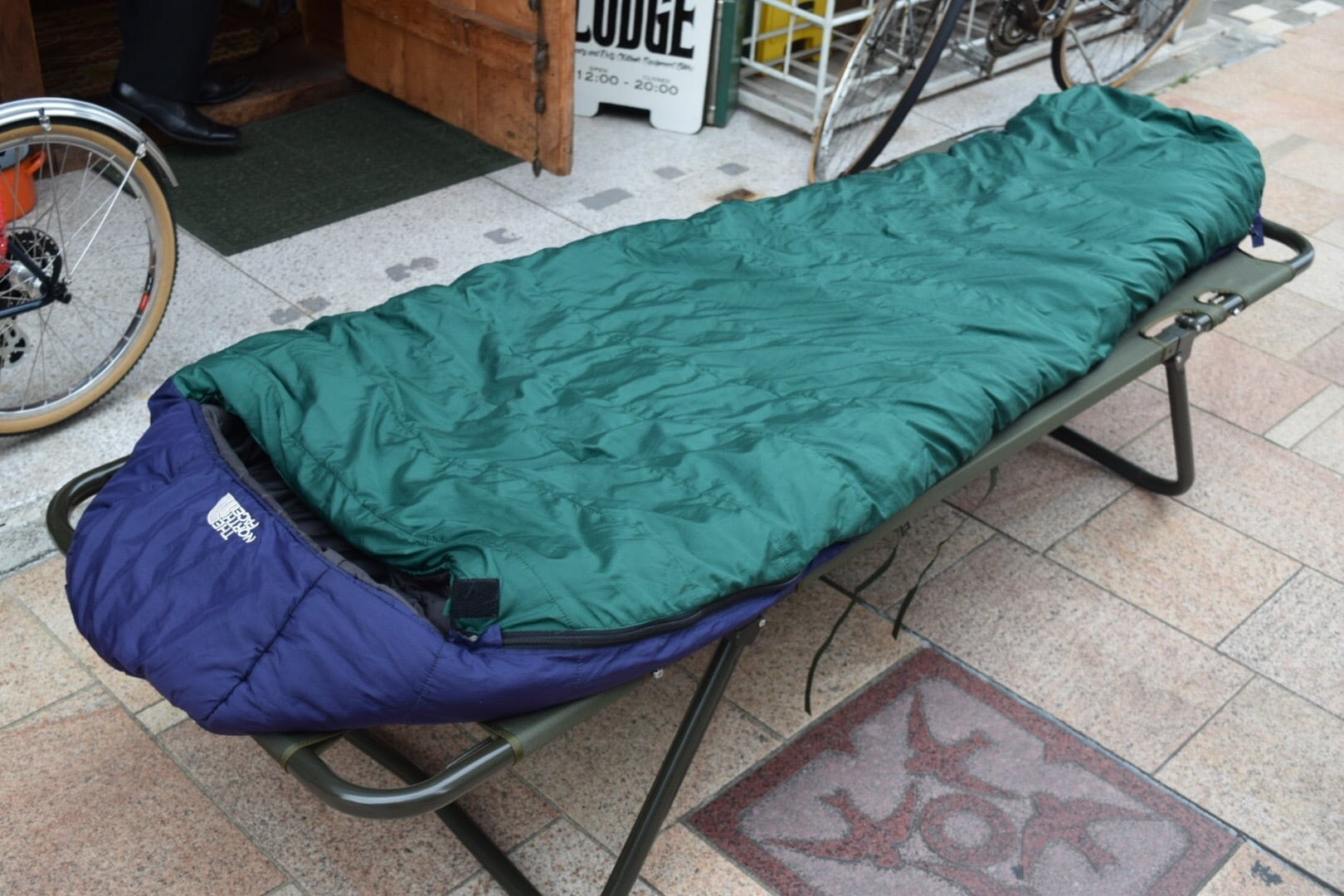 USED 90s THE NORTH FACE Sleeping Bag