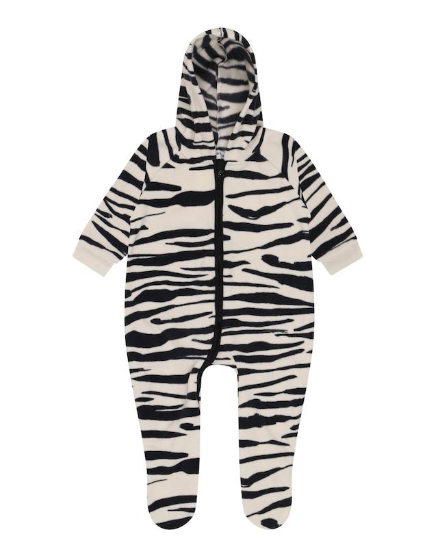 Another Fox / Zebra Polar Fleece Pramsuit 3-6m/6-9m/9-12m