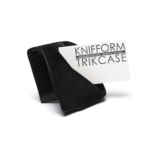 knifform for business card