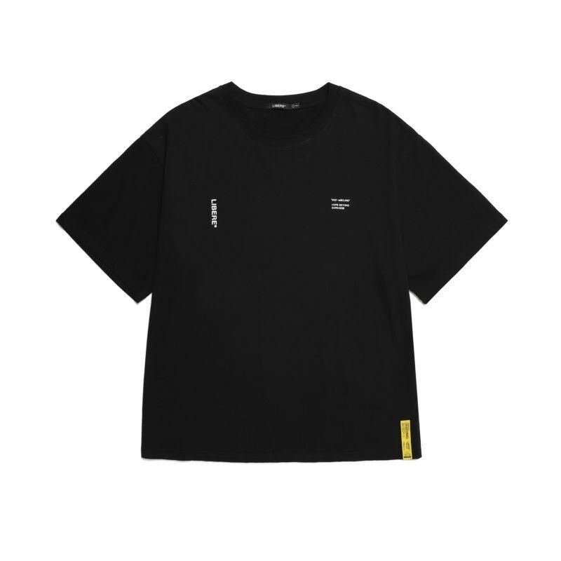 211202 21 SLOGAN TEE / BLACK