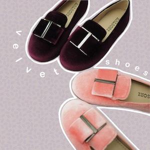 «予約» buckle loafers 2colors バックルローファー