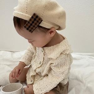 【即納】Collar wrinkle blouse   nunubiel  (襟付きクリンクルブラウス)