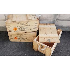 フランス WOOD弾薬箱