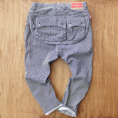 G55 Sarouel Flap Denim Pants