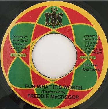Freddie McGregor(フレディーマクレガー) - For What It's Worth【7'】