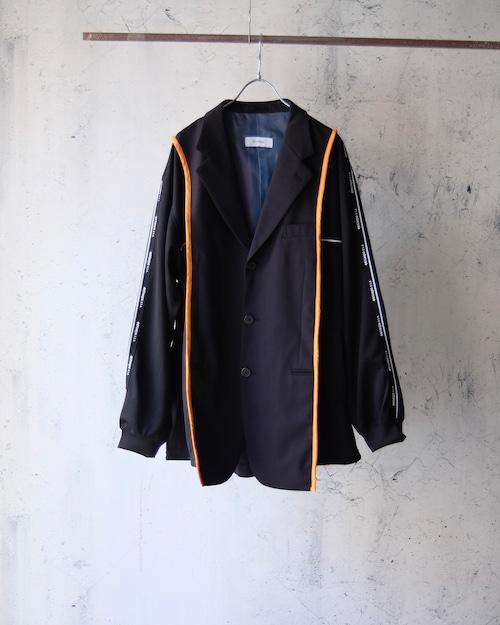 remake switching jacket (black×black jersey)