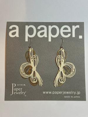 【Paper Jewely】ミズヒキ/ピアス