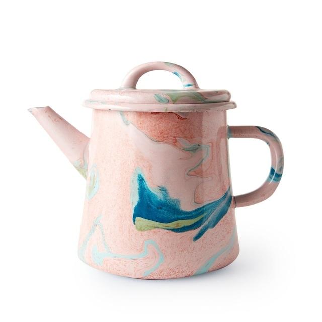BORNN / NEW MARBLE - Large Teapot - Blush