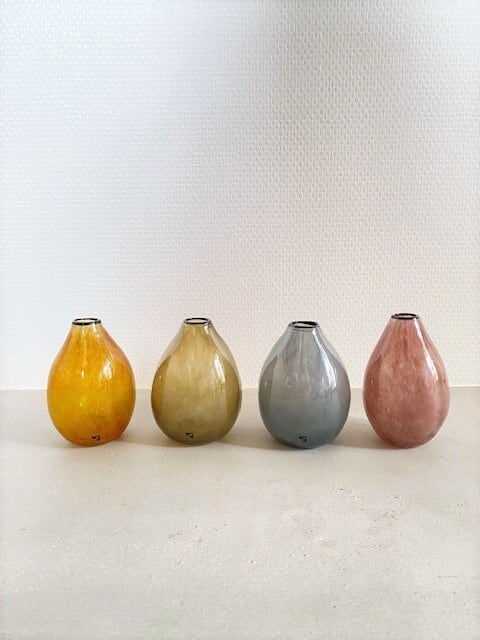 kasumi mini vase ( イエロー/グリーン/ブルー/パープル )