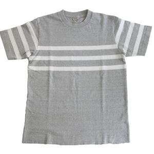 FilMelange (フィルメランジェ) ORSON オーソン オーガニックコットン パネルボーダーTシャツ