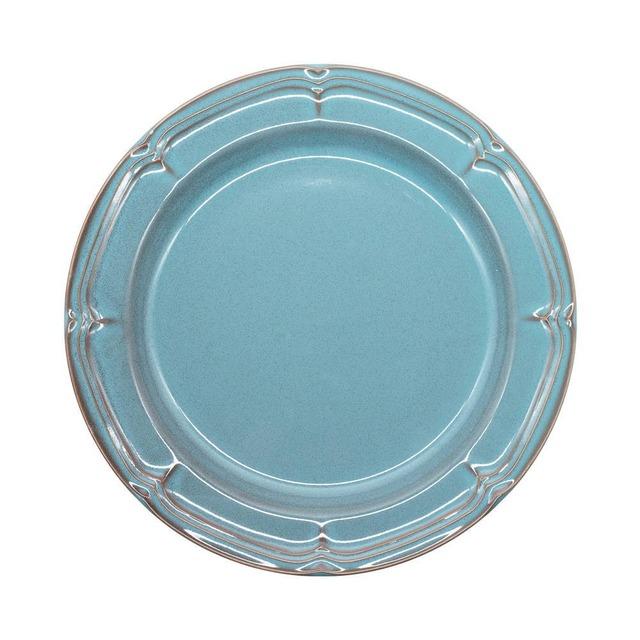 Koyo ラフィネ リムプレート 皿 23.5cm アンティークブルー 15987104