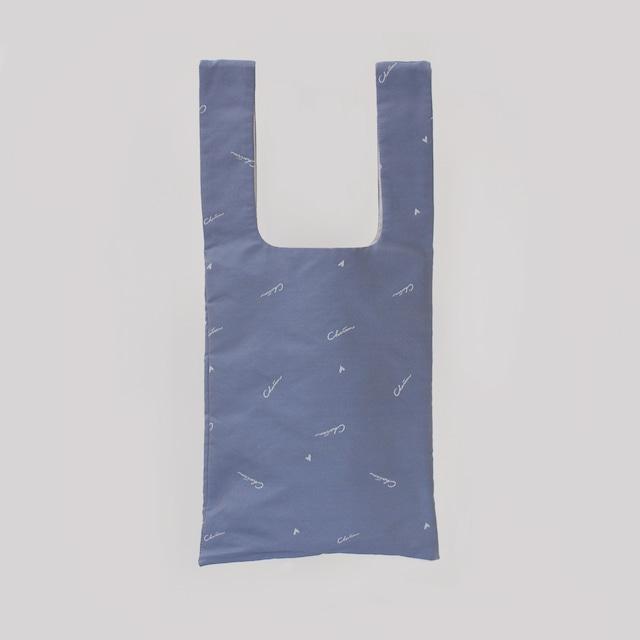 Charrm Original logo bag NO.2  -Light navy