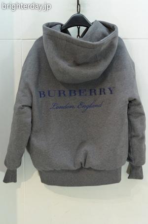 BURBERRY LONDON ENGLAND スウェット ダウンパーカー