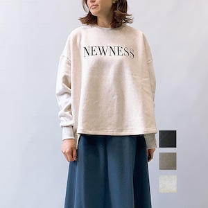 "MICA&DEAL(マイカアンドディール) ""NEWNESS""ロゴスウェットプルオーバー 2021秋冬新作[送料無料]"