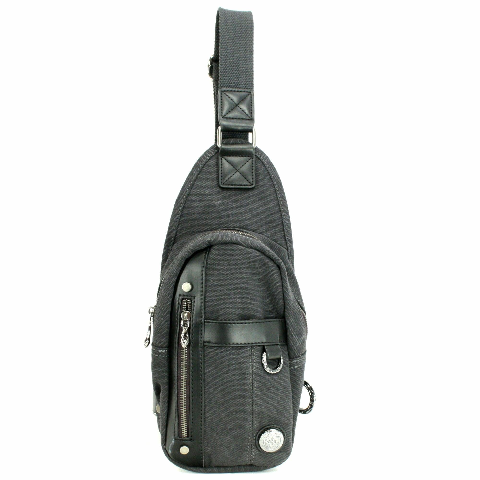 キャンバスボディバッグ ACBG0017 Canvas body bag
