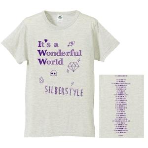 It's a Wonderful World TOUR Tシャツ【Oat Meal】