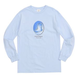 WHIMSY / YEAR BOOK L/S TEE -POWDER BLUE-