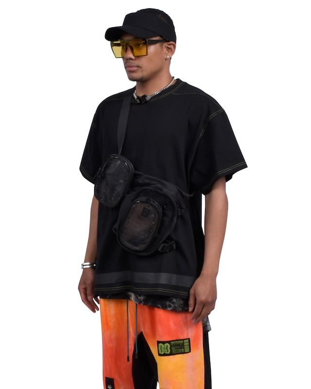 COMBINABLE MINI SHOULDER BAG - BLACK