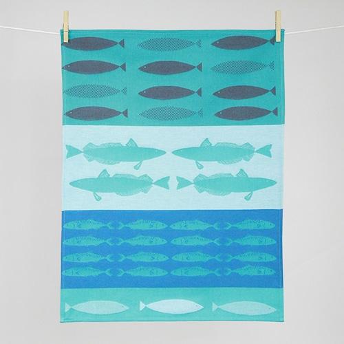 ティータオル ポワソン(魚)