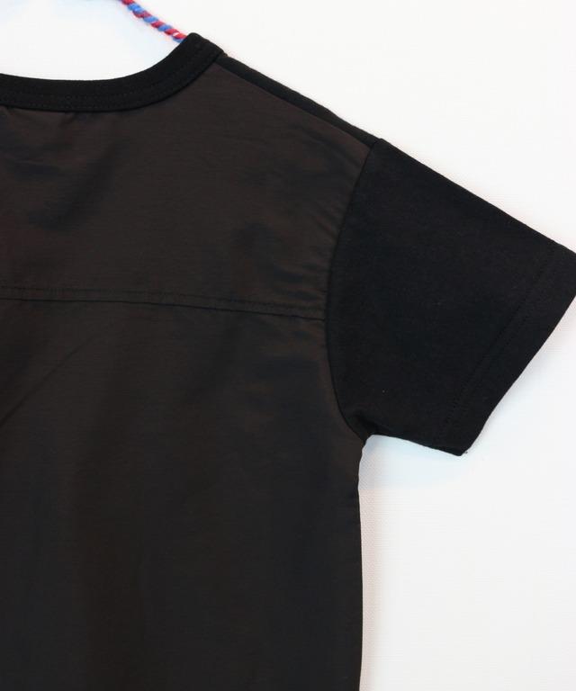 別布使いうしろ切替え半袖TEE