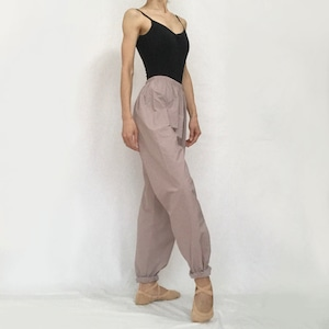 """Jasmine"" Long Ballet Pants  - Dusty Lilac (「ジャスミン」ロングバレエパンツ -ダスティ・ライラック)"