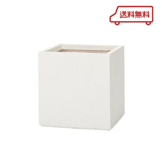 【送料無料】KONTON  ファイバークレイ ベータ キューブ  ホワイト 10号用 観葉植物